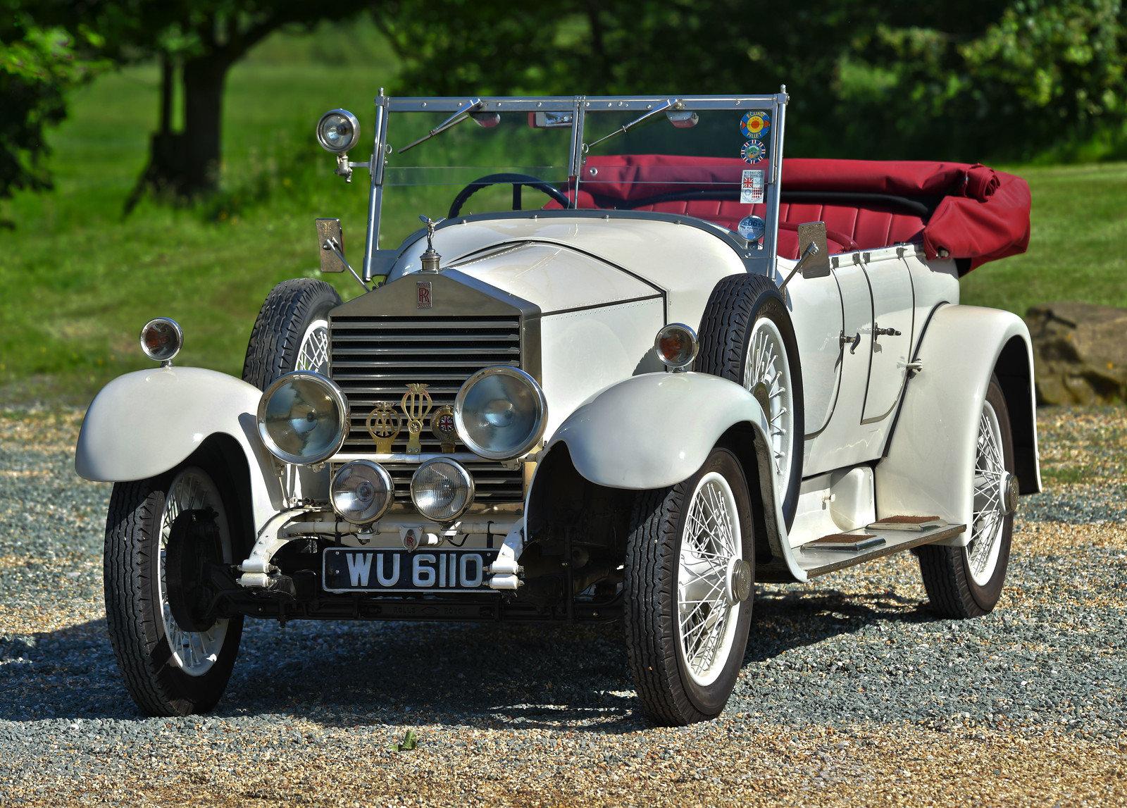 1926 Rolls Royce 20hp Barker Barrel sided tourer For Sale (picture 1 of 6)