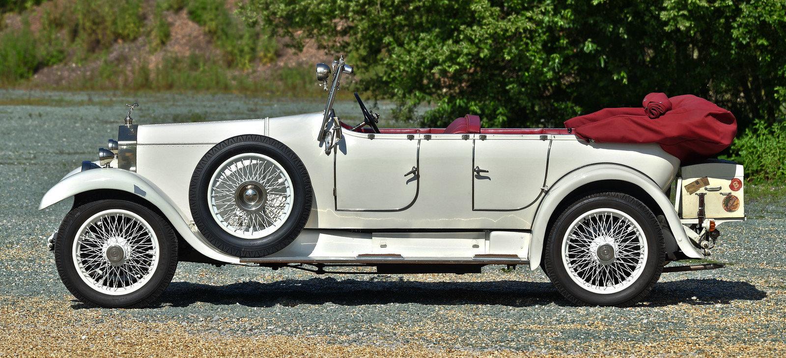 1926 Rolls Royce 20hp Barker Barrel sided tourer For Sale (picture 2 of 6)