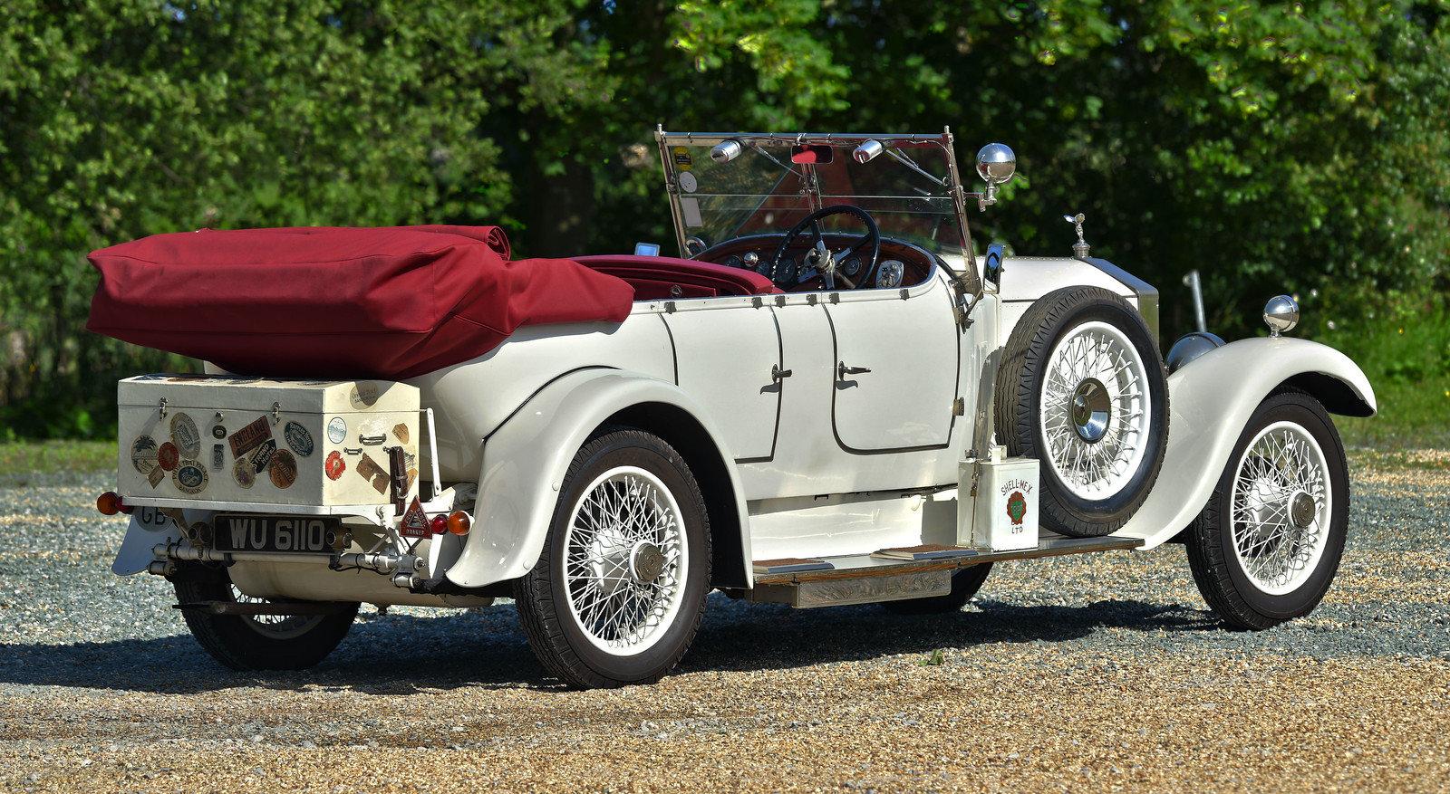 1926 Rolls Royce 20hp Barker Barrel sided tourer For Sale (picture 3 of 6)