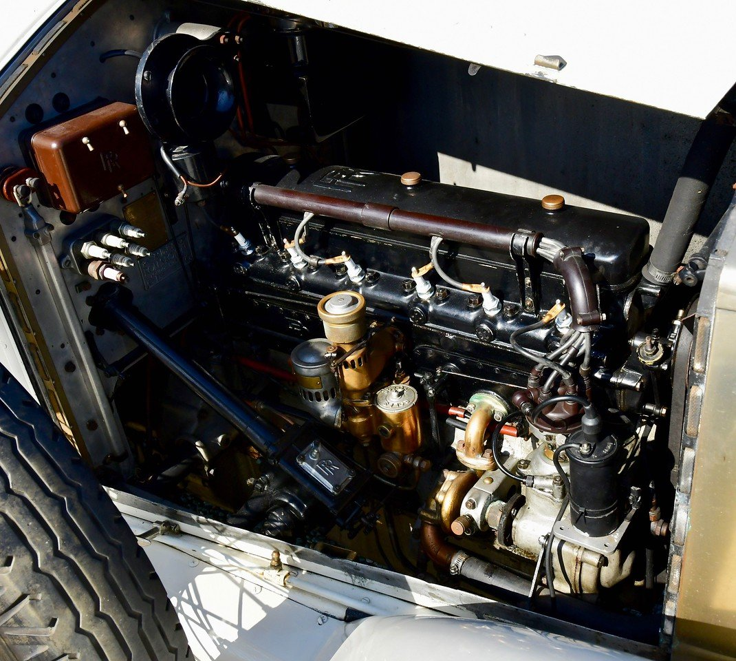 1926 Rolls Royce 20hp Barker Barrel sided tourer For Sale (picture 6 of 6)