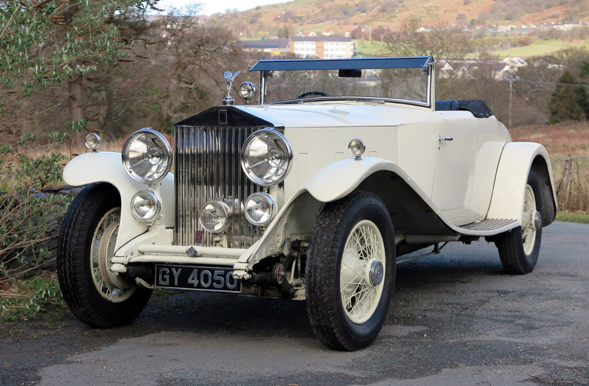 1932 Rolls-Royce PII Cont. Tourer H.J.Mulliner  DHC 28MS For Sale (picture 1 of 6)