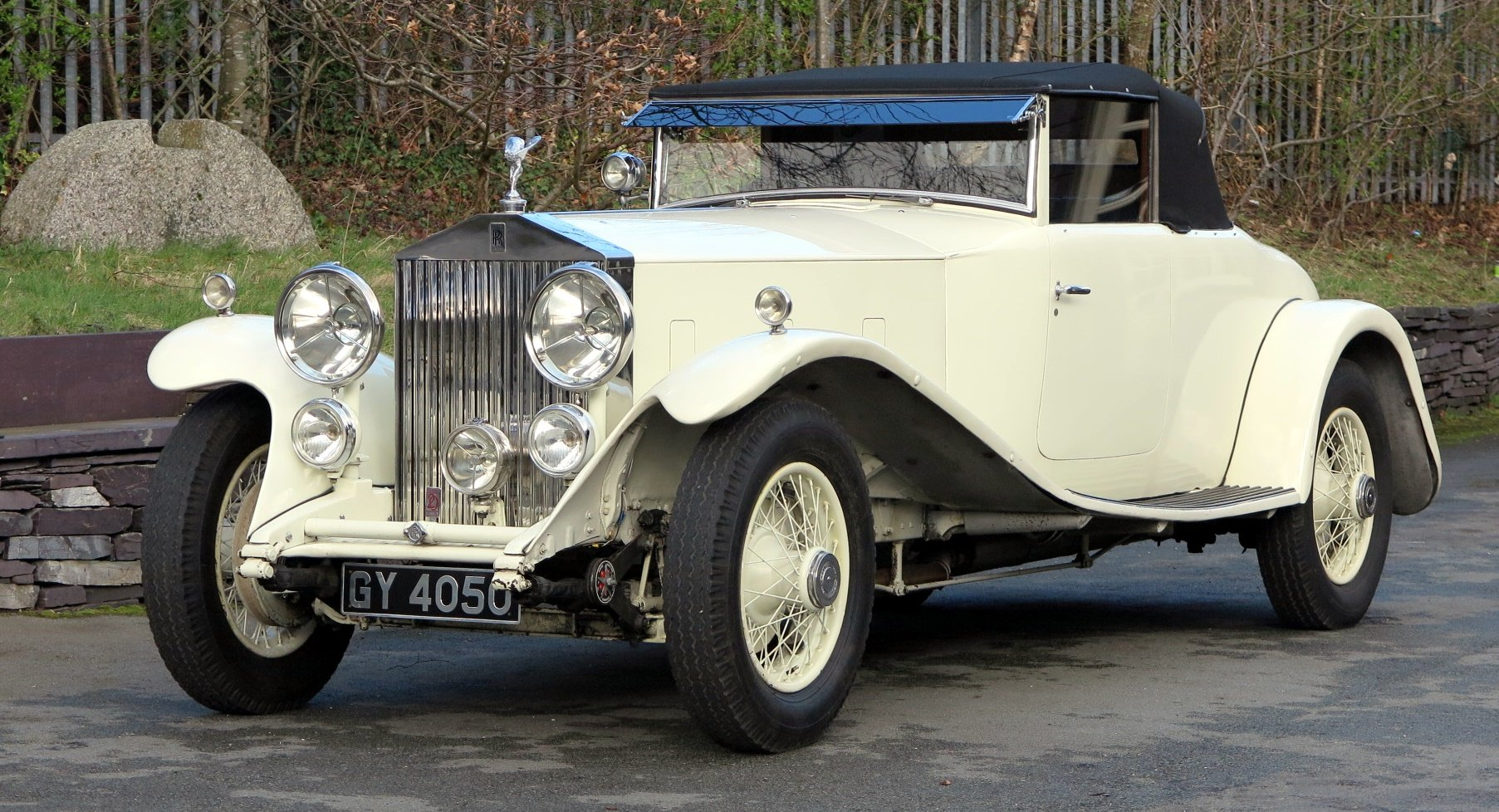 1932 Rolls-Royce PII Cont. Tourer H.J.Mulliner  DHC 28MS For Sale (picture 3 of 6)