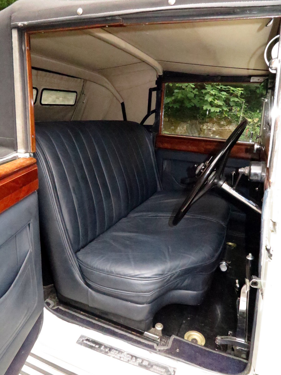 1932 Rolls-Royce PII Cont. Tourer H.J.Mulliner  DHC 28MS For Sale (picture 6 of 6)