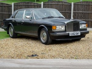 1990 Rolls-Royce Silver Spirit II For Sale by Auction