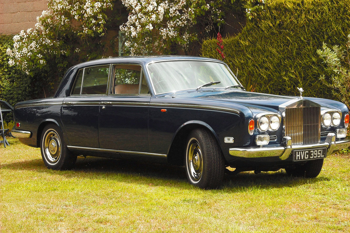 1973 ROLLS-ROYCE SHADOW, 1972, Dark Metallic Blue, For Sale (picture 1 of 6)