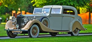 1936 Rolls-Royce Phantom III Sedanca de Ville by Gurney Nutt For Sale