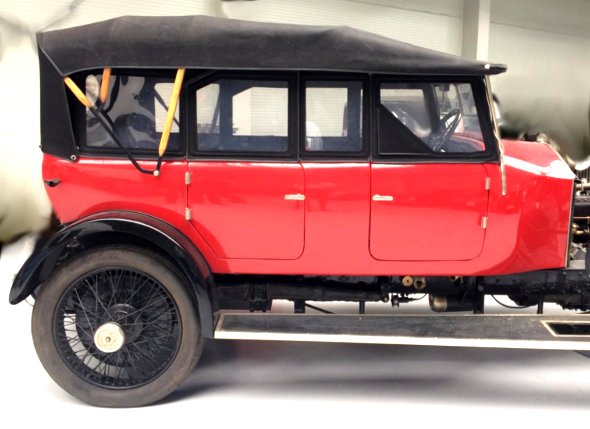 1926 R-R P 1 short chassis + Barker tourer body For Sale (picture 1 of 6)