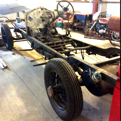 1926 R-R P 1 short chassis + Barker tourer body For Sale (picture 2 of 6)