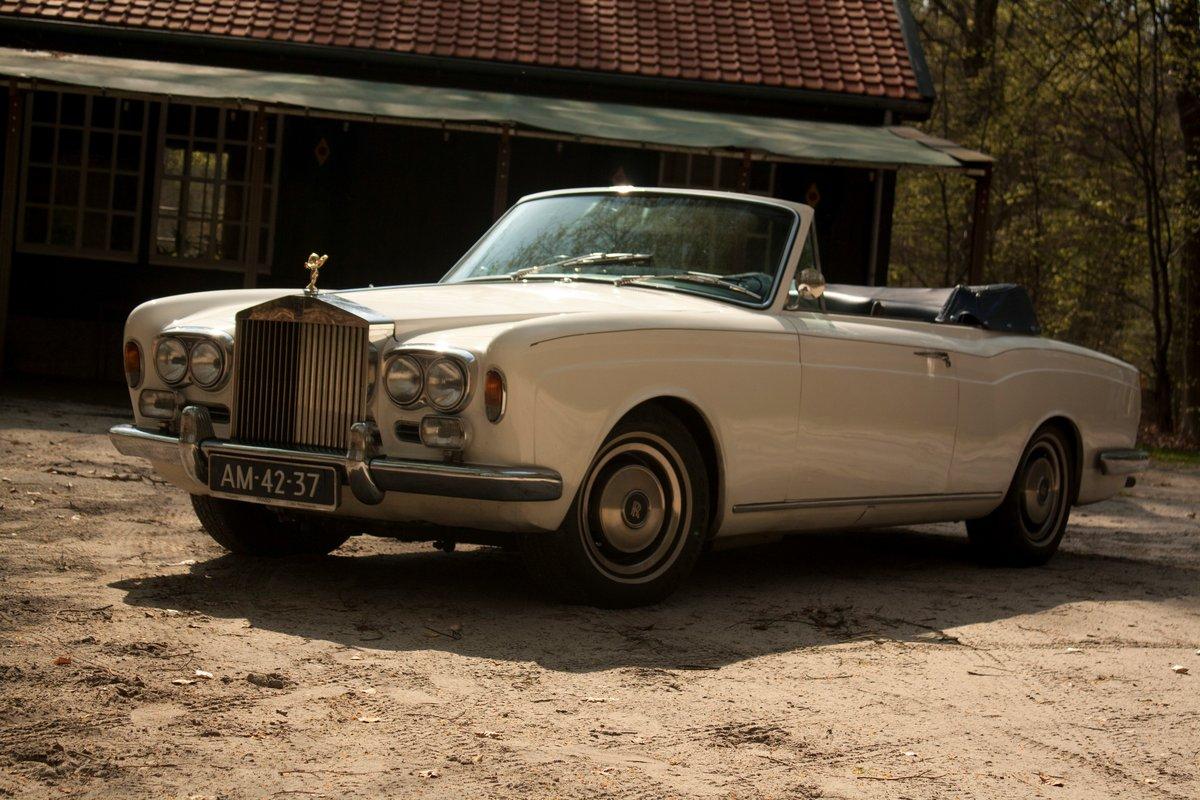 1971 Rolls Royce Corniche Convertible For Sale (picture 1 of 6)