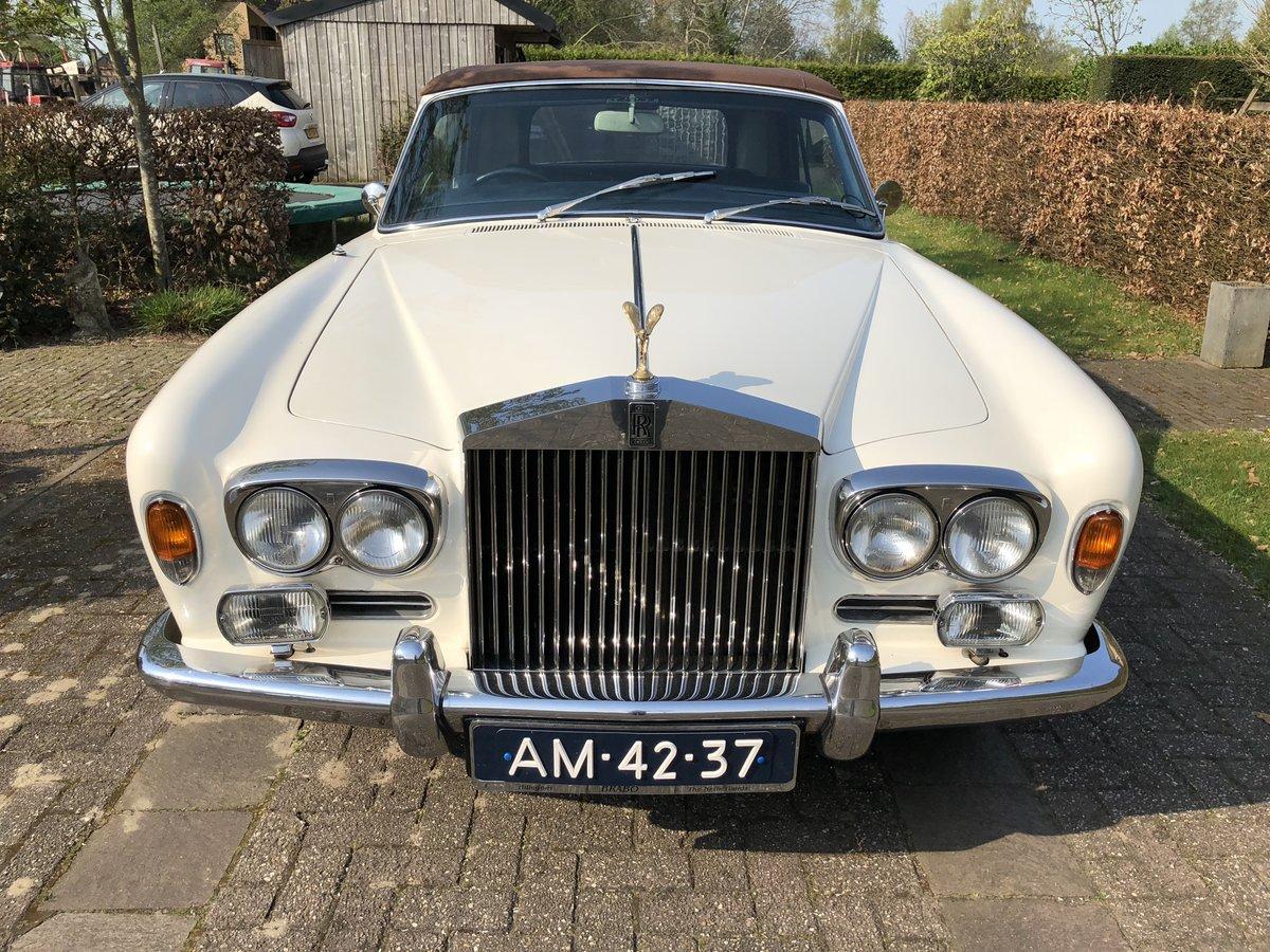1971 Rolls Royce Corniche Convertible For Sale (picture 5 of 6)