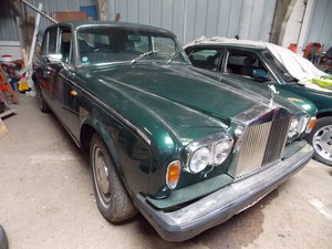 1980 Wraith II - Barons Tuesday 16th July 2019 SOLD by Auction