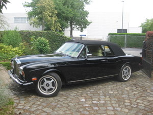 Rolls Royce Corniche II Cabriolet  1981 Ex Hollywood Movie For Sale