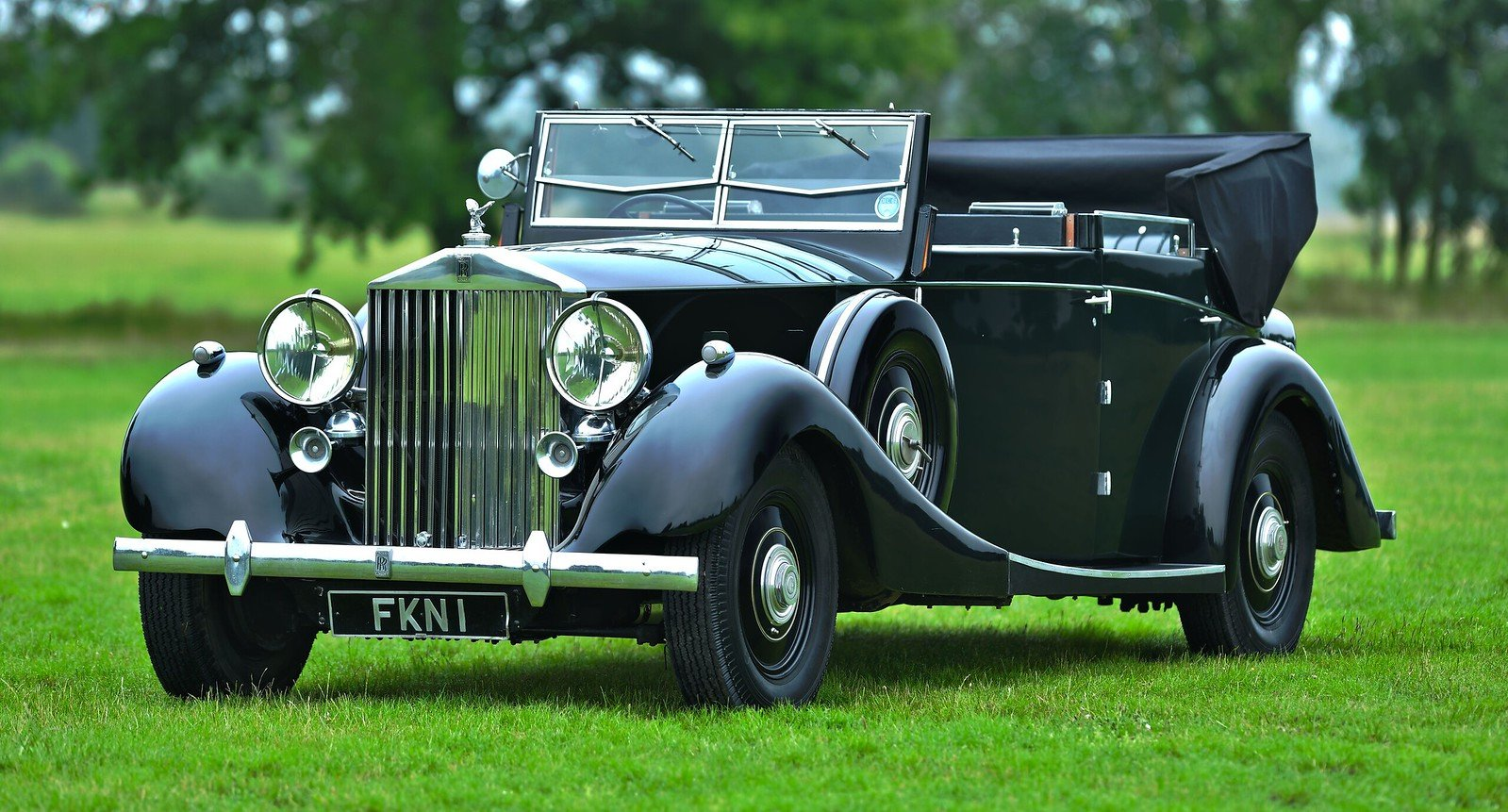 1938 Rolls-Royce Phantom III Four Light Cabriolet Coachwork  For Sale (picture 1 of 6)