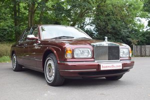 1999 S Rolls Royce Silver Seraph. Finished in Sunset Red