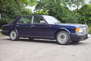1996 1997 Model/ P Rolls Royce Silver Dawn in Royal Blue For Sale