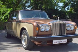 1978 S Rolls Royce Silver Shadow II in Walnut / Silver Sand For Sale