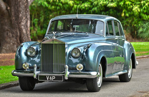 1958 Rolls-Royce Silver Cloud Standard Steel Saloon For Sale