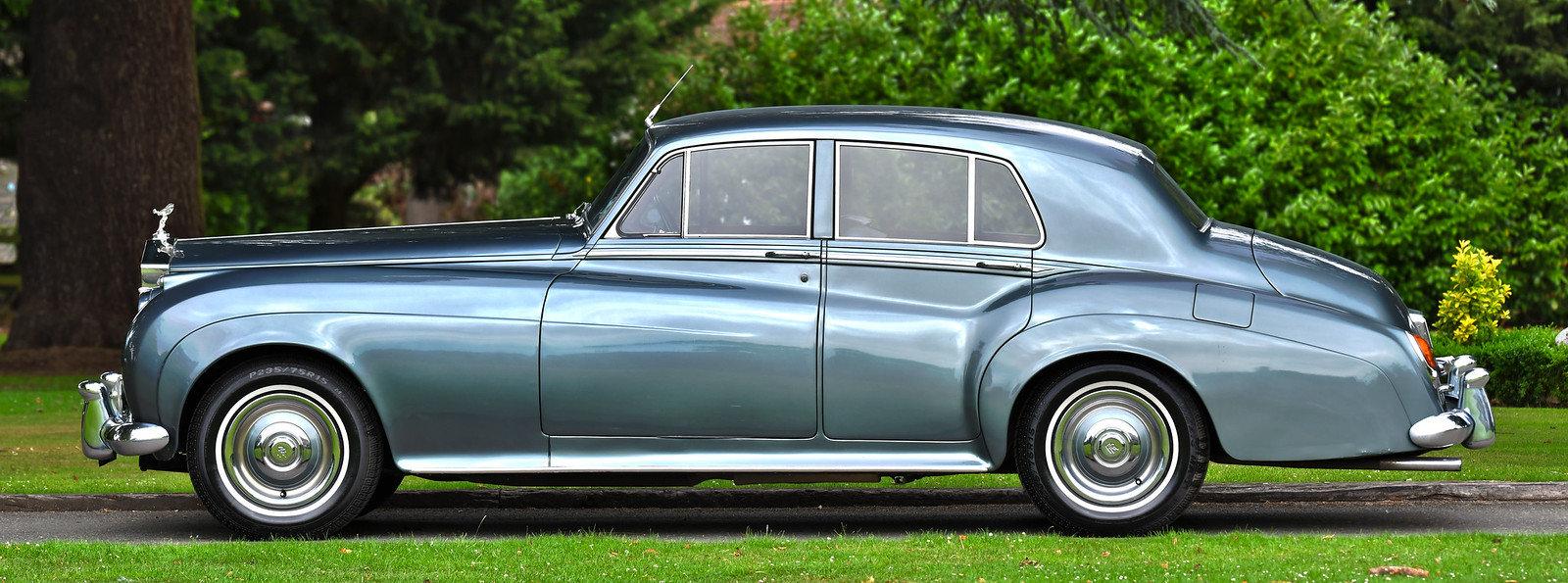 1958 Rolls-Royce Silver Cloud Standard Steel Saloon For Sale (picture 2 of 6)