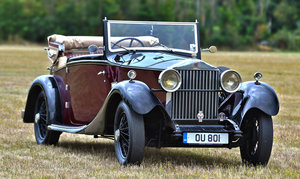 1928 Rolls Royce 20hp 3 position drophead by Wylder For Sale