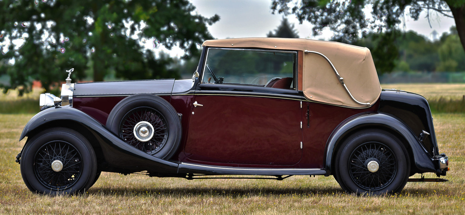 1928 Rolls Royce 20hp 3 position drophead by Wylder For Sale (picture 2 of 6)