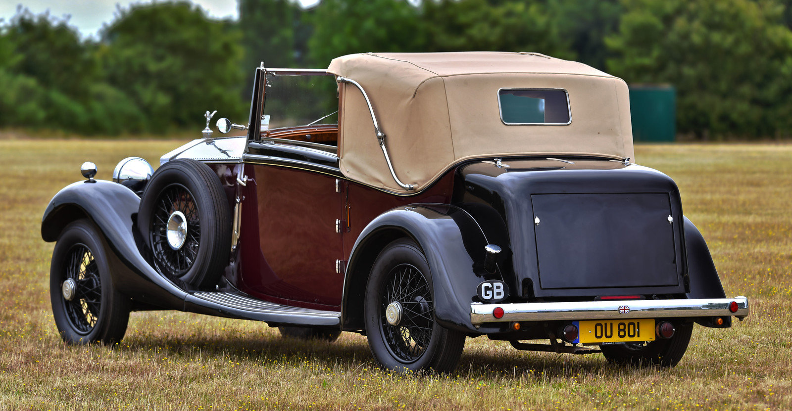 1928 Rolls Royce 20hp 3 position drophead by Wylder For Sale (picture 3 of 6)