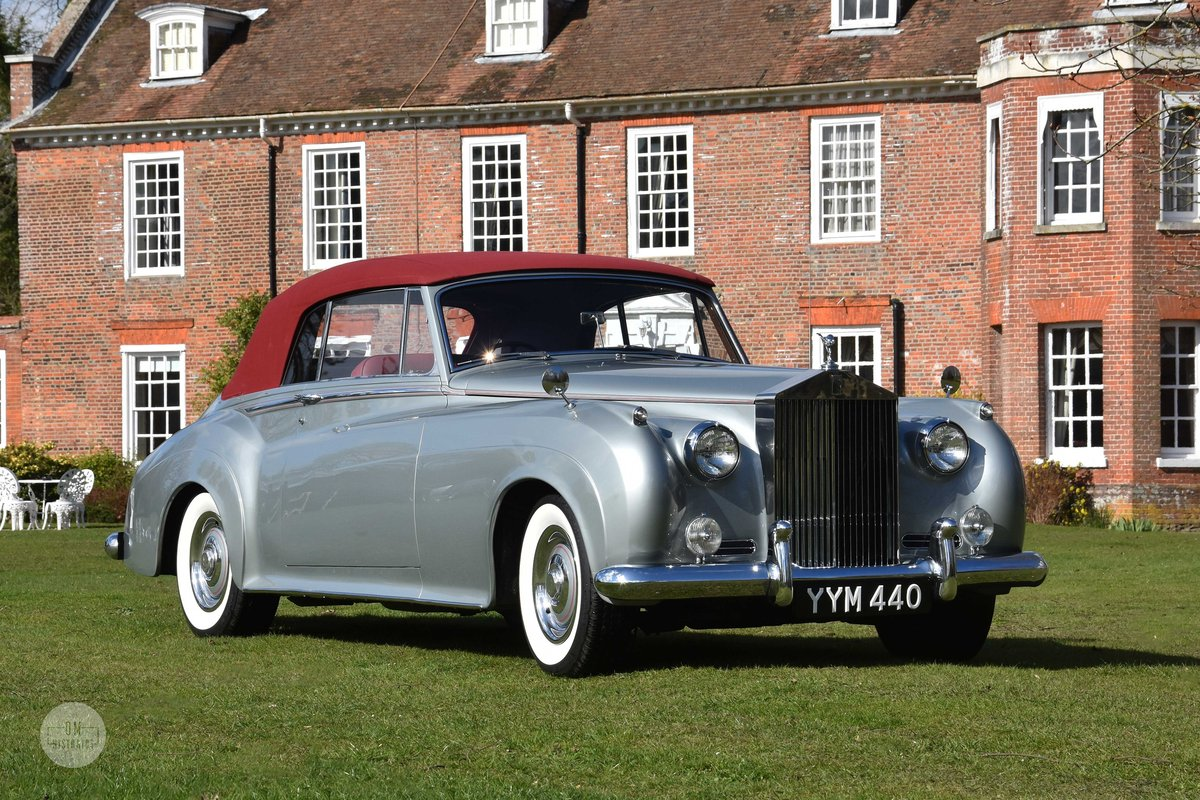 1960 Rolls-Royce Silver Cloud II DHC Restored For Sale (picture 1 of 6)