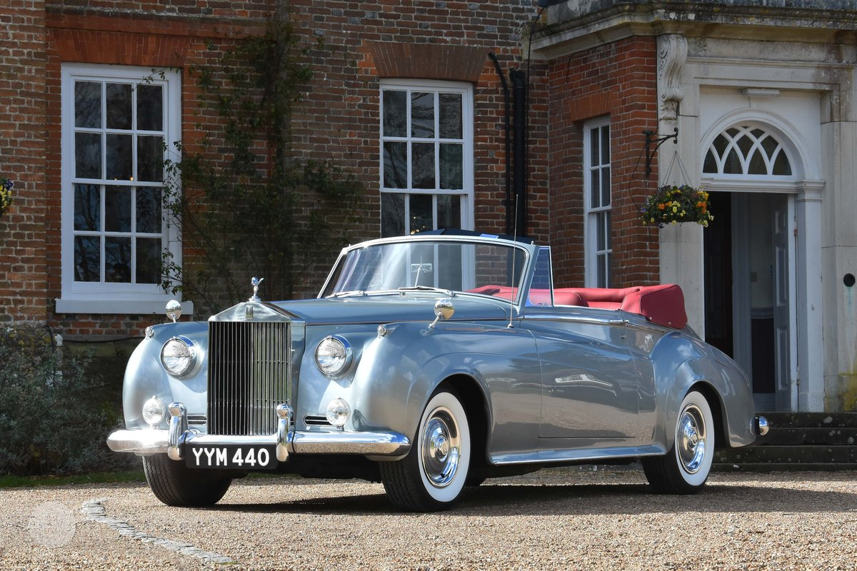 1960 Rolls-Royce Silver Cloud II DHC Restored For Sale (picture 2 of 6)