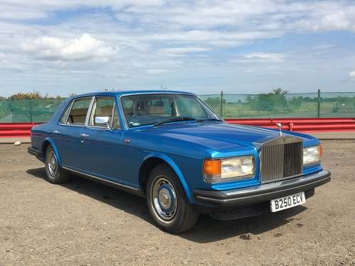 1984 Rolls Royce Silver Spirit II at Morris Leslie Auction SOLD by Auction (picture 1 of 6)