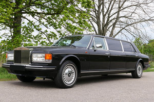 1987 Rolls-Royce Silver Spur Pullmann Stretch Limousine For Sale