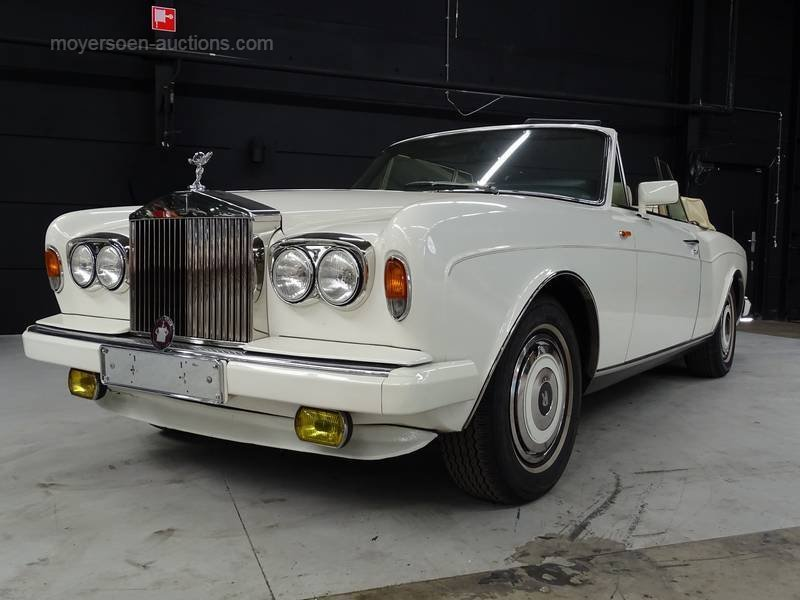 1988 ROLLS-ROYCE Corniche For Sale by Auction (picture 1 of 6)