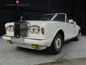 1988 ROLLS-ROYCE Corniche For Sale by Auction
