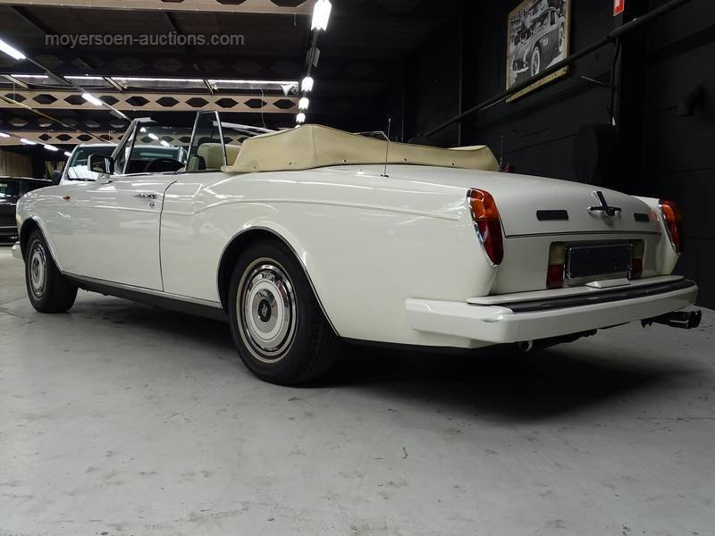 1988 ROLLS-ROYCE Corniche For Sale by Auction (picture 3 of 6)
