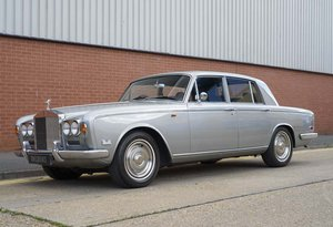 1971 Rolls Royce Silver Shadow Series 1 RHD For Sale In London For Sale