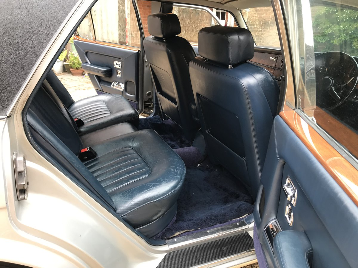 1981 Rolls Royce Silver Spirit Genuine 34k miles For Sale (picture 4 of 6)