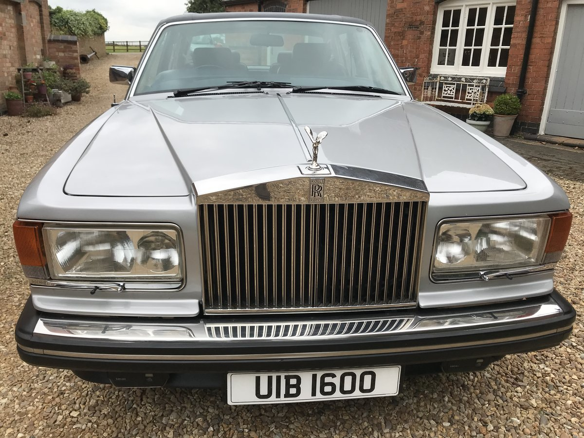 1981 Rolls Royce Silver Spirit Genuine 34k miles For Sale (picture 6 of 6)