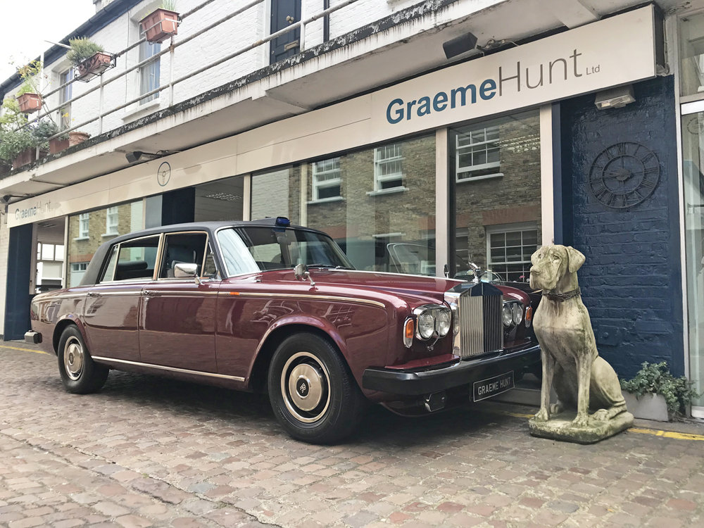 1980 Rolls-Royce Silver Wraith II ex HRH Princess Margaret For Sale (picture 1 of 12)