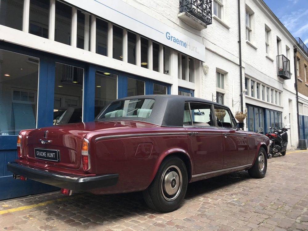 1980 Rolls-Royce Silver Wraith II ex HRH Princess Margaret For Sale (picture 6 of 12)