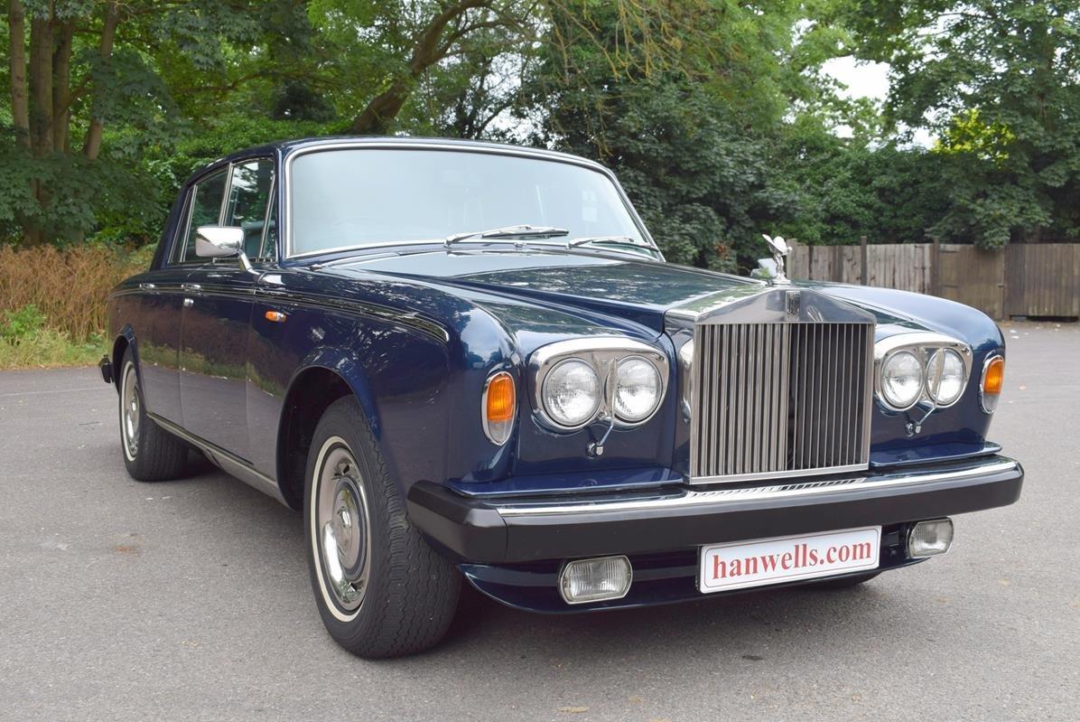 1979 T Rolls Royce Silver Shadow II in Seychelles Blue For Sale (picture 1 of 6)