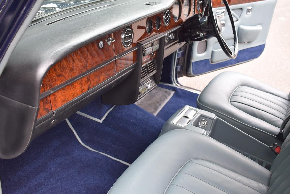 1979 T Rolls Royce Silver Shadow II in Seychelles Blue For Sale (picture 2 of 6)