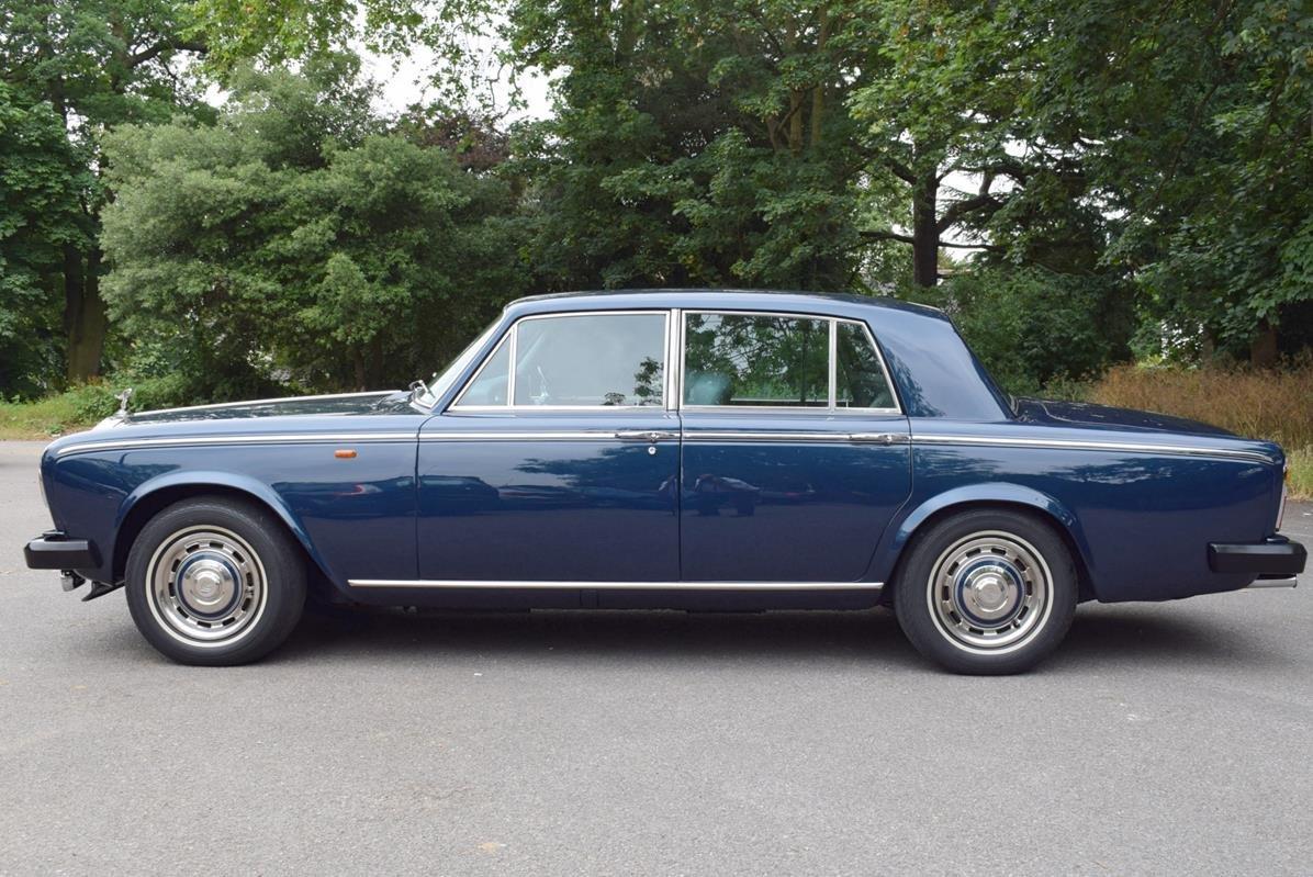 1979 T Rolls Royce Silver Shadow II in Seychelles Blue For Sale (picture 4 of 6)