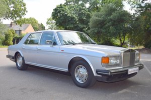 1987 D Rolls Royce Silver Spirit ABS EFI in Georgian Silver For Sale