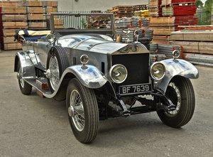 1925 Rolls Royce Silver Ghost  Barrel Sided tourer For Sale