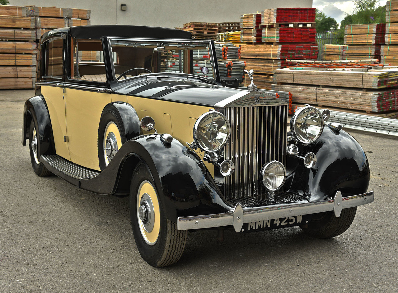 1937 Rolls Royce Phantom 3 Barker Razor Edge Sedanca For Sale (picture 1 of 6)