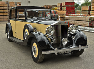 1937 Rolls Royce Phantom 3 Barker Razor Edge Sedanca For Sale