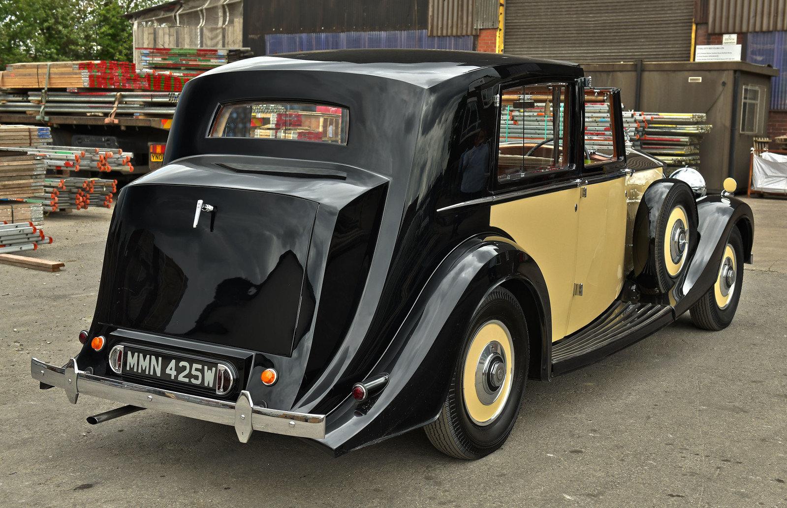 1937 Rolls Royce Phantom 3 Barker Razor Edge Sedanca For Sale (picture 2 of 6)