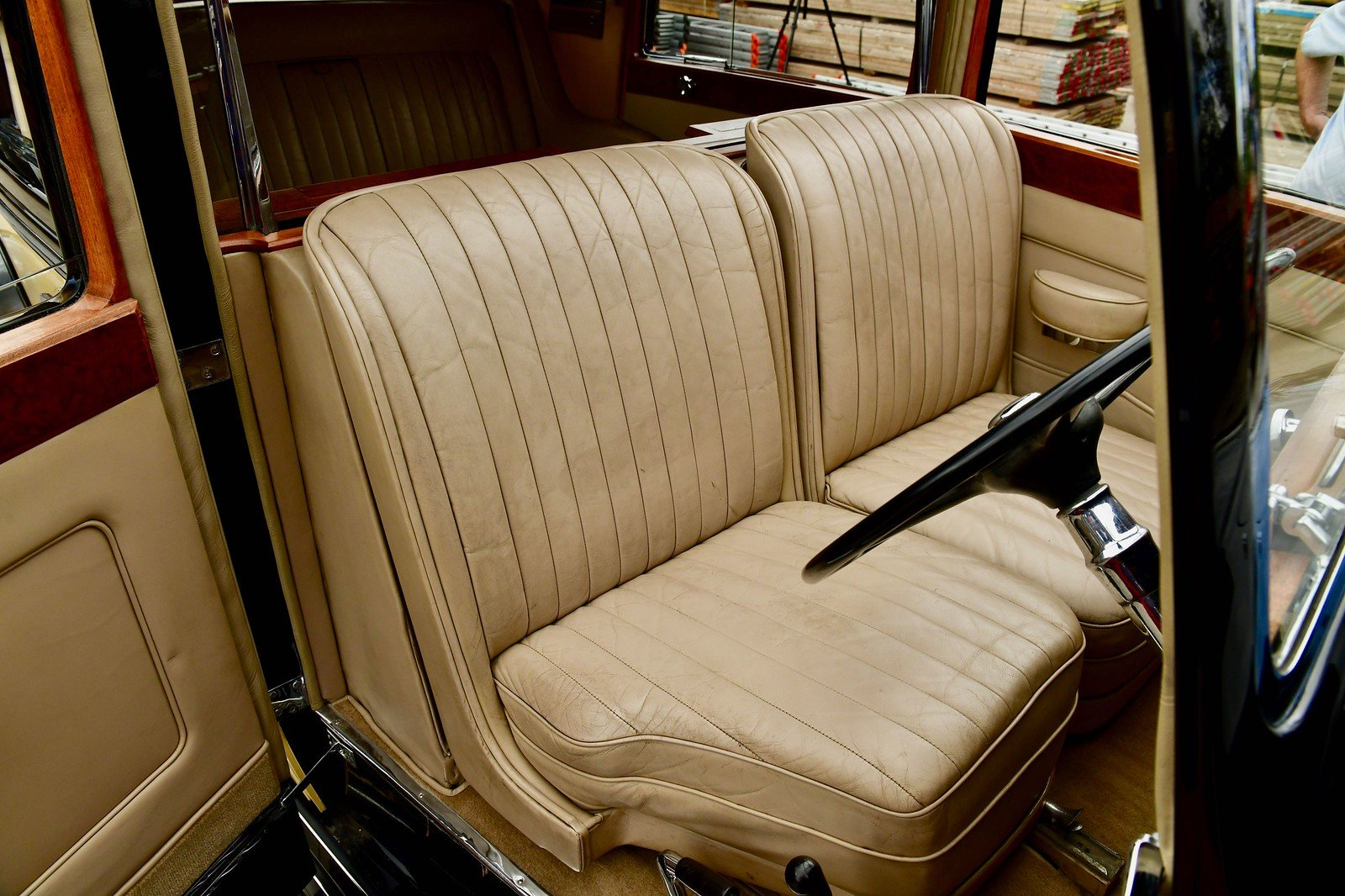 1937 Rolls Royce Phantom 3 Barker Razor Edge Sedanca For Sale (picture 4 of 6)