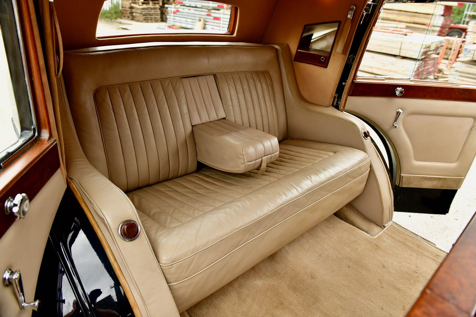 1937 Rolls Royce Phantom 3 Barker Razor Edge Sedanca For Sale (picture 5 of 6)