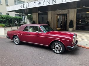 1980 One owner Corniche convertible For Sale