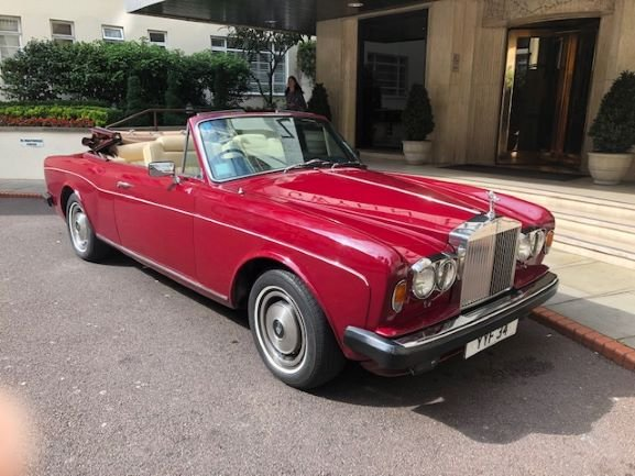 1980 One owner Corniche convertible For Sale (picture 2 of 3)