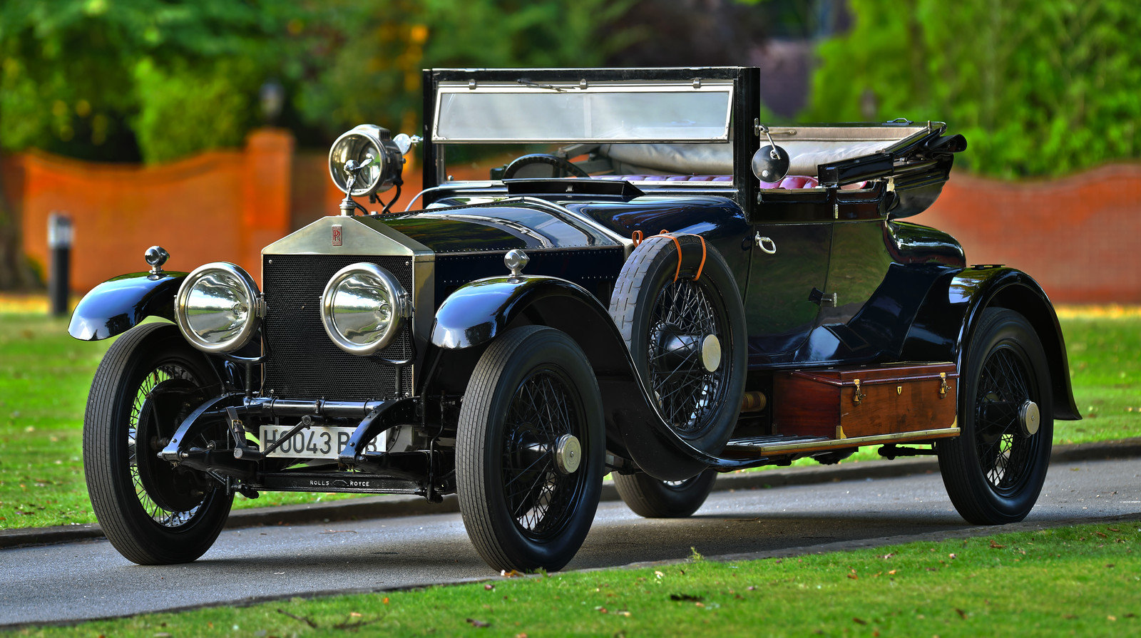 1923 Rolls Royce Silver Ghost Barker 3/4 Cabriolet For Sale (picture 1 of 6)